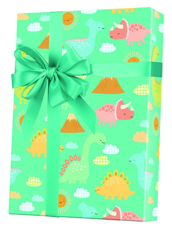 Babysaurus Wrapping Paper
