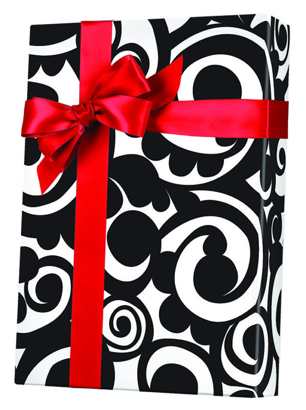 Bold Scroll Wrapping Paper