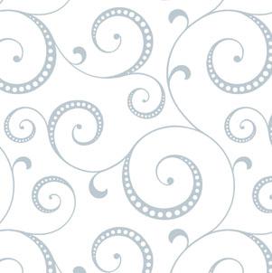 Nouveau Swirl Printed Tissue Paper