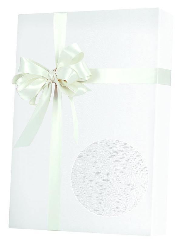 White Grain Wrapping Paper
