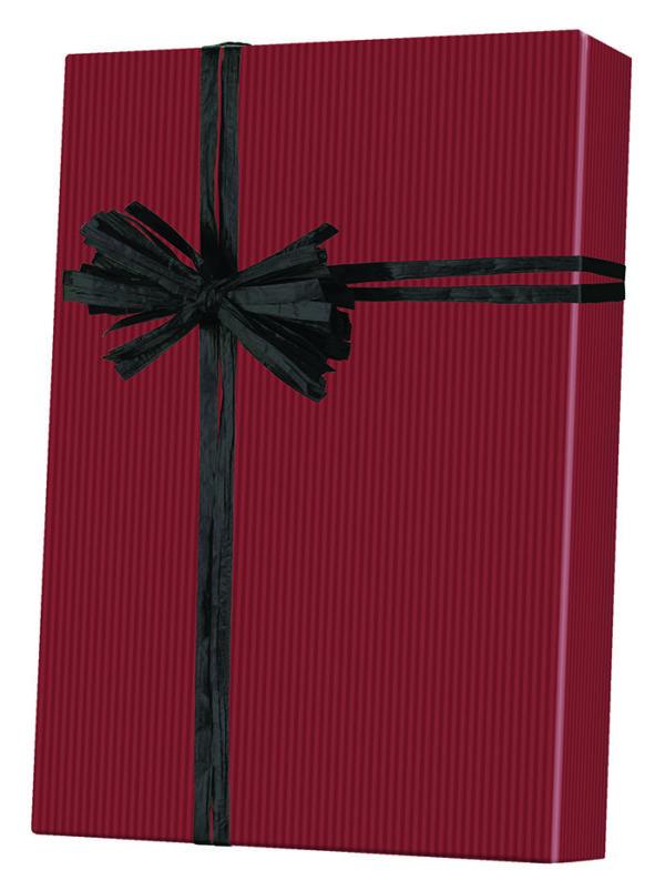 Dark Red - Kraft Wrapping Paper