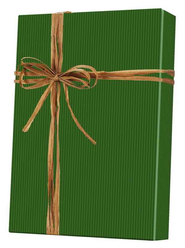 Dark Green - Kraft Wrapping Paper