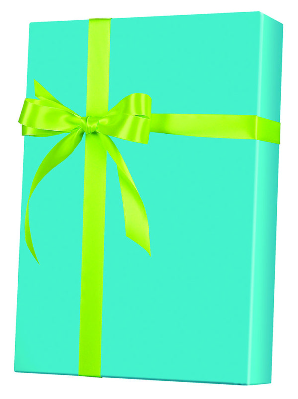 Turquoise Wrapping Paper