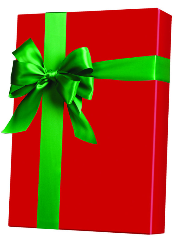 Christmas Red Wrapping Paper