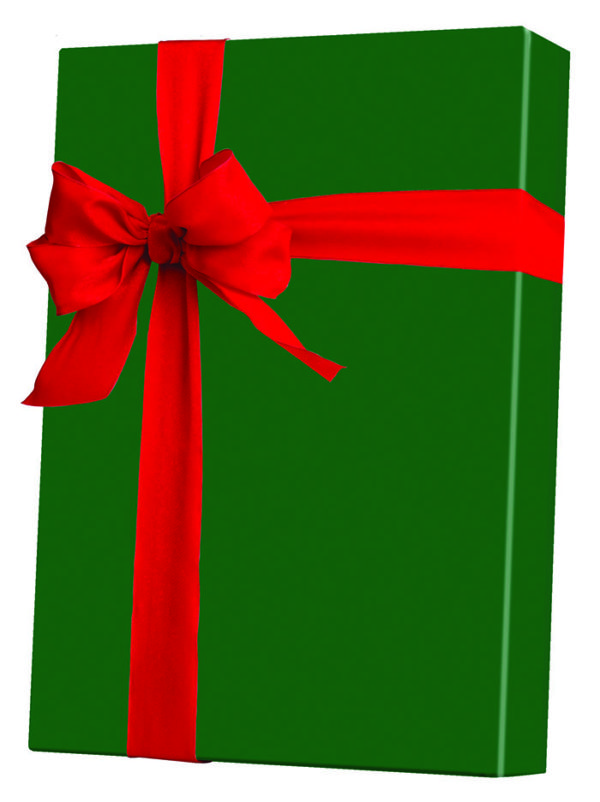 Christmas Forest Green Wrapping Paper