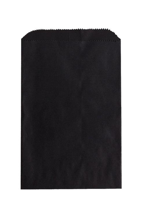 Black Paper Merchandise Bag