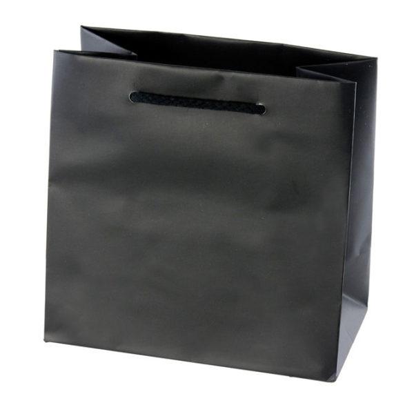 Black Matte Eurotote Bag