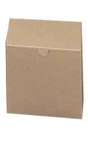 Kraft Pinstripe Gift Box