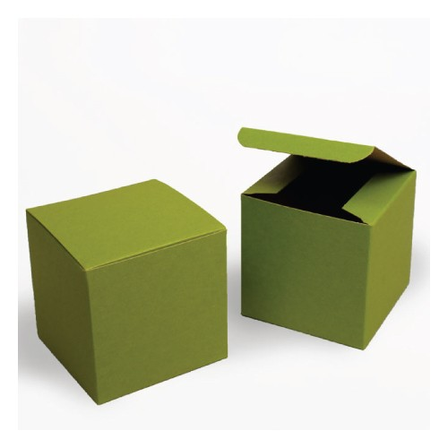 Green Tinted Kraft Gift Boxes