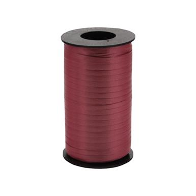 Burgundy Curling Ribbon