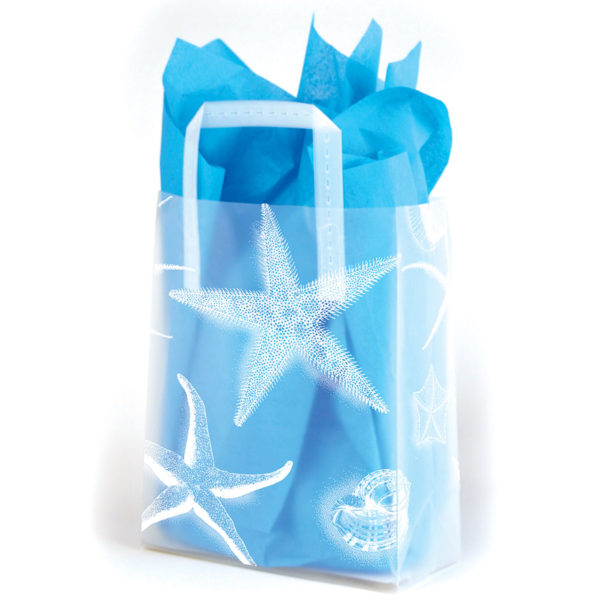 Starfish - Printed Tri-Fold Shopping Bag