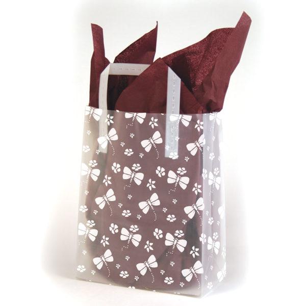 Papillon - Printed Tri-Fold Shopping Bag