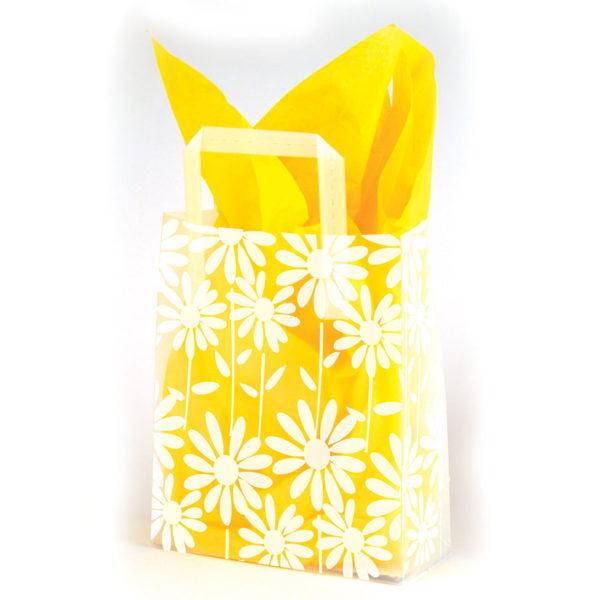 Daisies - Printed Tri-Fold Shopping Bag