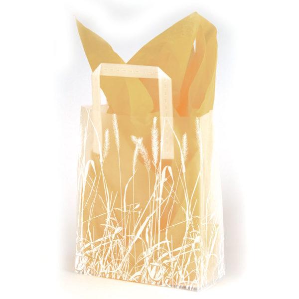 Grassy Meadow - Printed Tri-Fold Shopping Bag