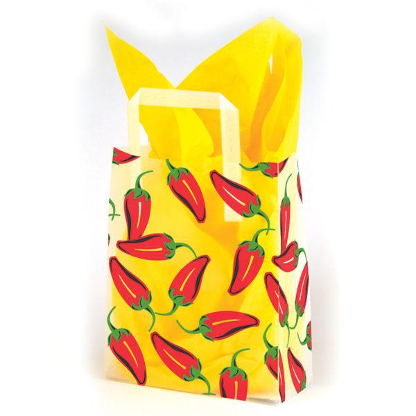 Chili Pepper - Printed Tri-Fold Shopping Bag