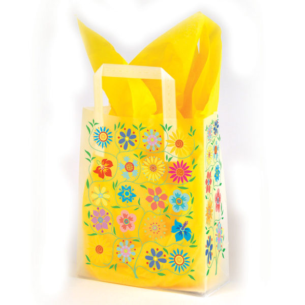 Tapestry - Printed Tri-Fold Shopping Bag