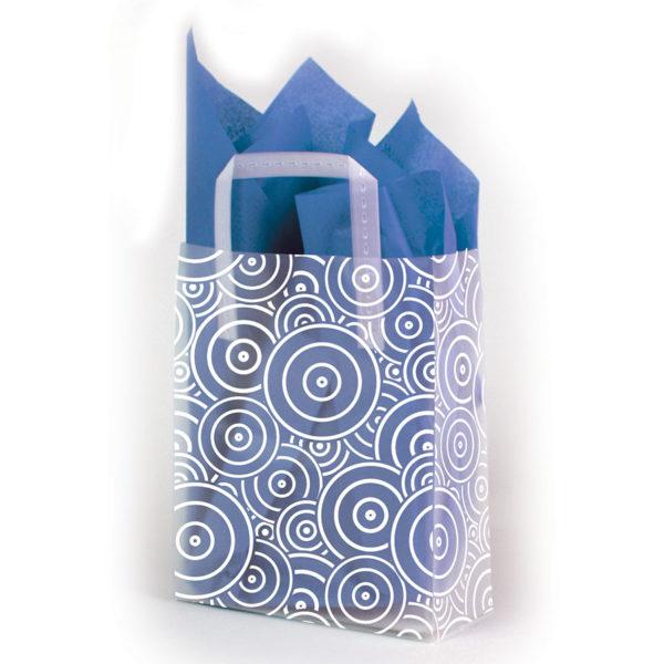 Concentric Circles - Printed Tri-Fold Shopping Bag