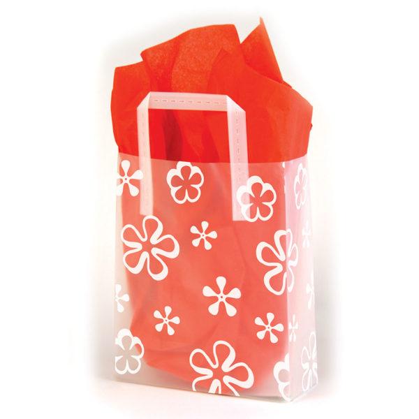 Big Mod Flowers - Printed Tri-Fold Shopping Bag