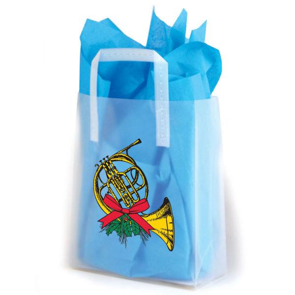 French Horn - Printed Tri-Fold Shopping Bag