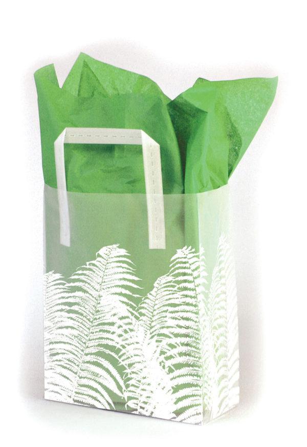 Ferns - Printed Tri-Fold Shopping Bag