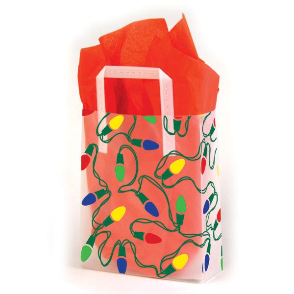 String of Lights - Printed Tri-Fold Shopping Bag