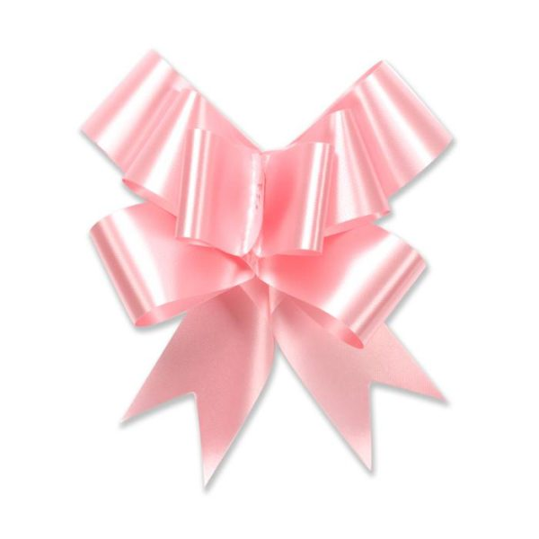 Pink - Flora Satin Bow