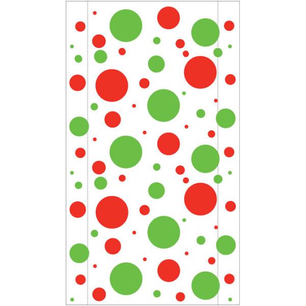 Holiday Dots Jumbo Plastic Bag