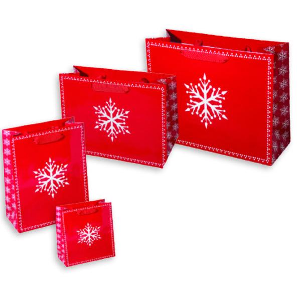 Presents Please, Matte Eurotote Bags with grosgrain handles