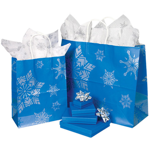 Royal Frost Paper Shoppers