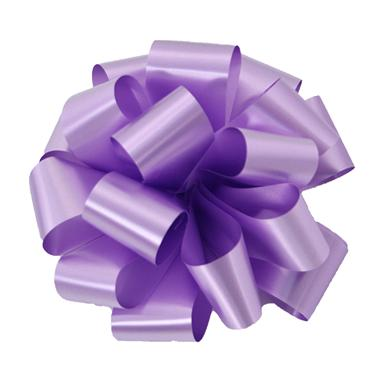 Lavender Notched Bow