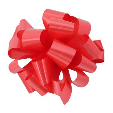 Red Notched Bow