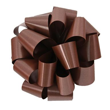 Chocolate Notched Bow