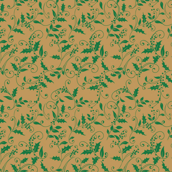 Total Holly Printed Tissue Paper