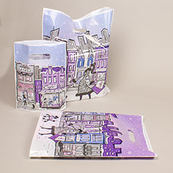Winter City Collection - Bio-Plastic Bags