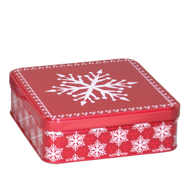 """Presents Please"" Tin Box 6x6x2"