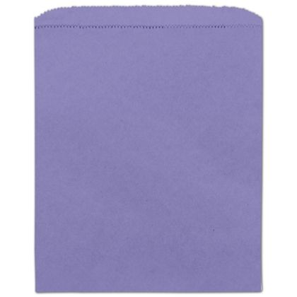 Purple Paper Merchandise Bag