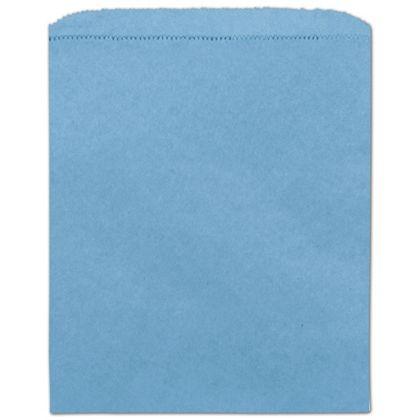 Sky Blue Paper Merchandise Bag