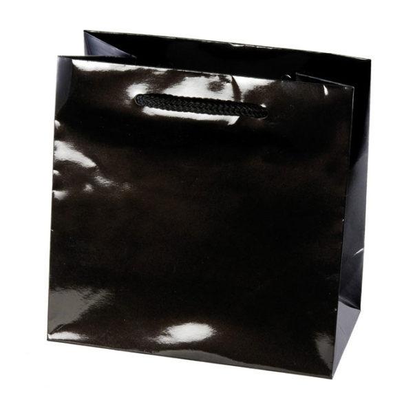 Black Gloss Eurotote Bag