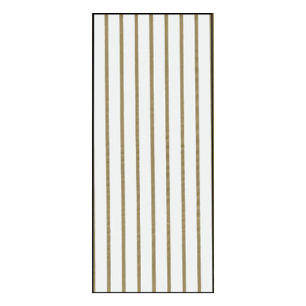 Gold Stripes Printed Cello Bag