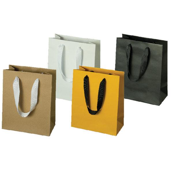 Kraft & Laminated Manhattan Bags - Matte