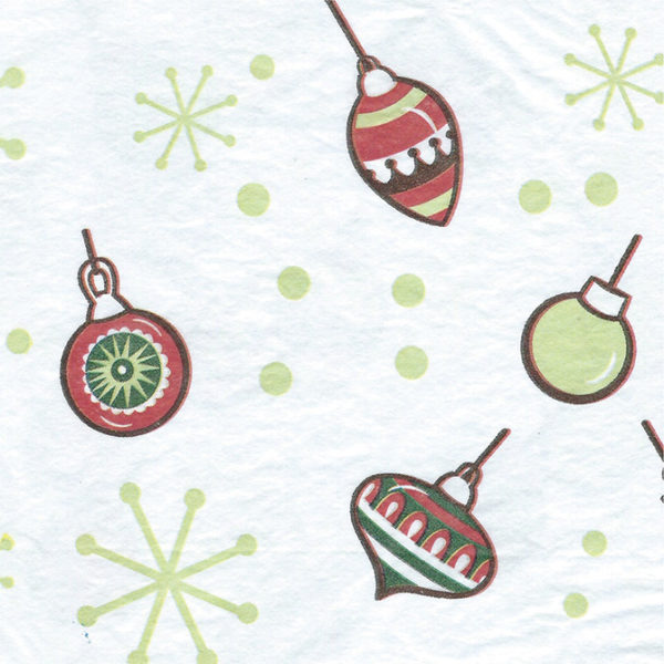 Retro Ornaments Printed Tissue Paper