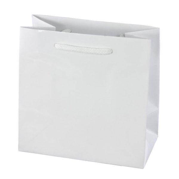White Gloss Eurotote Bag