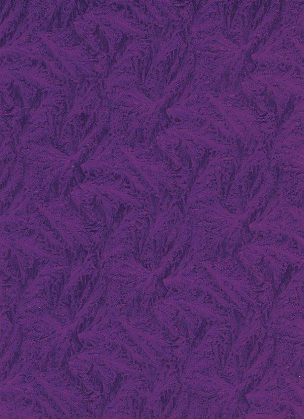 Purple Akita Wrapping Paper