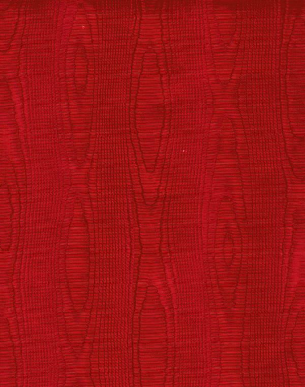 Red Moire Wrapping Paper