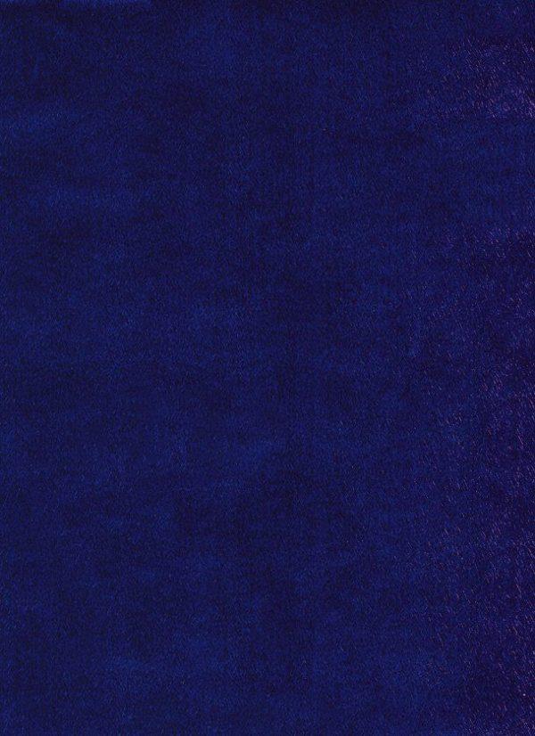 Dramatic Blue Spun Silk Wrapping Paper