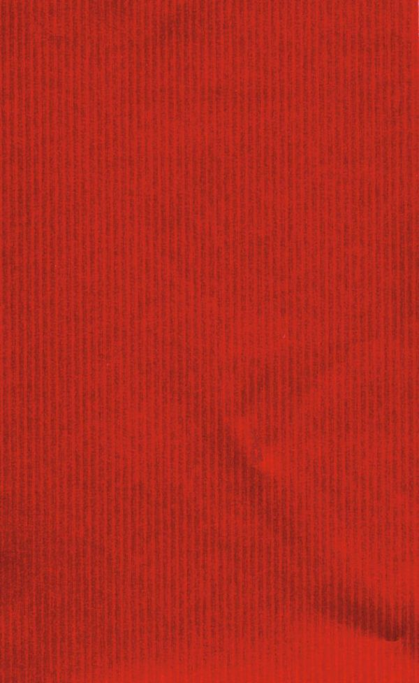 Red Rib Wrapping Paper