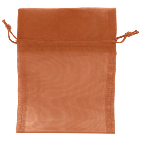 Copper Organza Bags