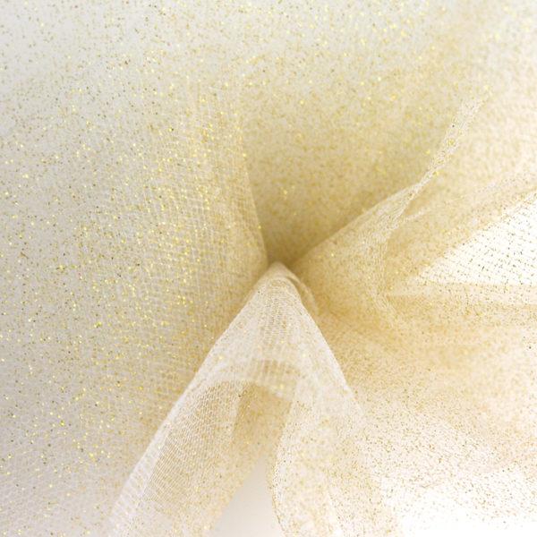 Glitter Gold Tulle