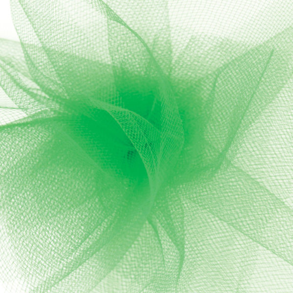 Kelly Green Tulle