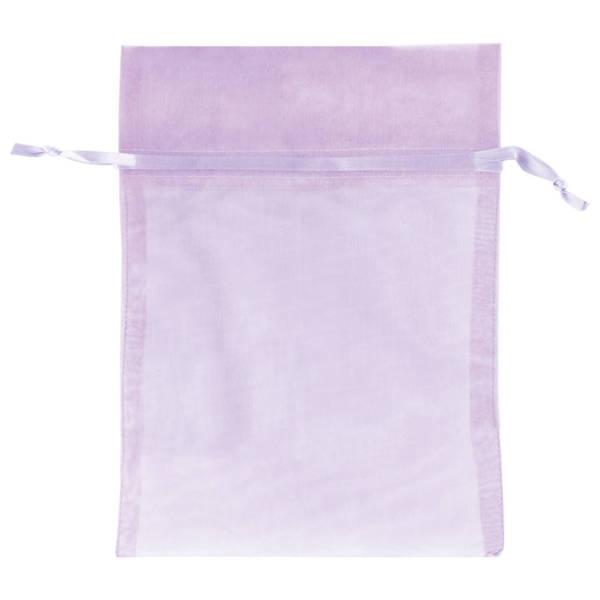 Lavender Organza Bags